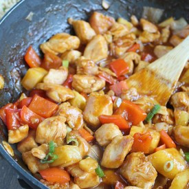 Quick & Easy Takeout Favorite: Sweet + Sour Chicken