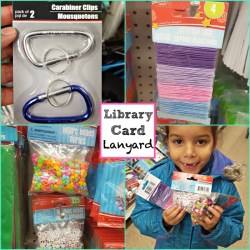 Fun Kid Craft: Library Card Lanyards!