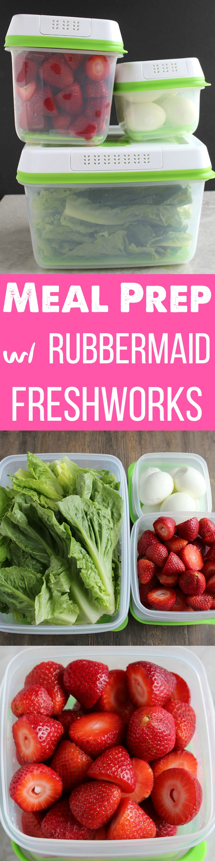 Meal Prep like a pro with Rubbermaid FreshWorks containers! Check out my simple tips! via @DashOfEvans