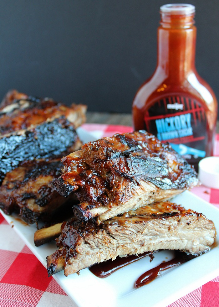 The secret to fall off the bone ribs is...the slow-cooker! Try these delicious BBQ ribs from Meijer. via @DashOFEvans
