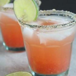 Non-Alcoholic Watermelon Margarita Mockt...