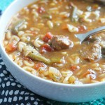 Lunchbox Friendly: ABC Vegetable Beef Soup