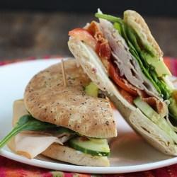 Easy Summer Sandwich: California Club on Bagel Thins!