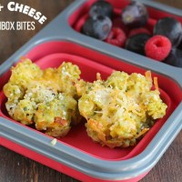 Looking to switch up the lunchboxes? Try these Veggie Mac & Cheese Bites. Be sure to pledge to #PowerYourLunchbox with @ProduceForKids this fall. via @DashOfEvans
