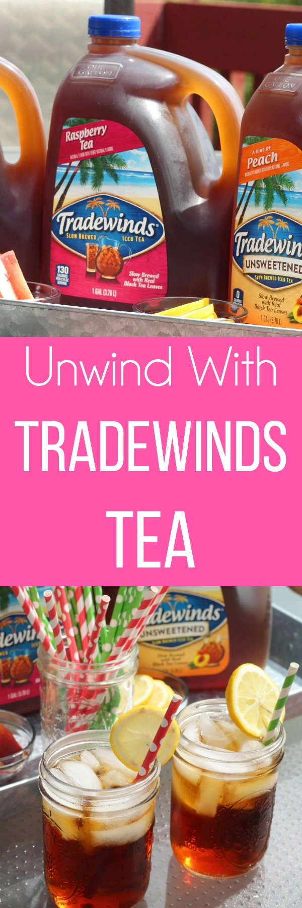 Enjoy Tradewinds Tea anytime! Slow brewed with tea leaves, it comes in a variety of flavors and sizes! YUM! via @DashofEvans #MomentsToSavor #TradewindsTea