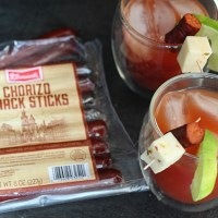 Klement's Snack sticks are perfect for on-the-go...or even drink garnishes! Check out this Spicy Bloody Maria cocktail. YUM! via @DashOfEvans