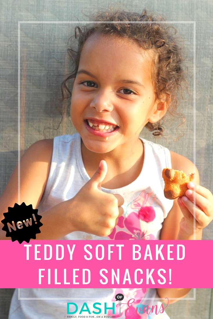 Try new TEDDY SOFT BAKED filled snacks from Walmart! Perfect for lunchboxes or after-school snacks. My daughter LOVES them! via @DashOfEvans (ad) #WalmartSnacks2Go