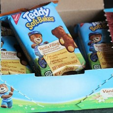 Lunchbox Treat: TEDDY SOFT BAKED Filled Snacks!