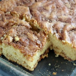 Cinnamon Cider Coffee Cake