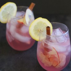 Autumn Apple Sangria w/ Alizé