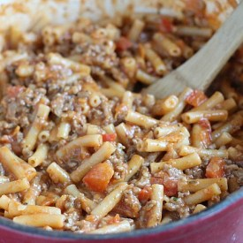 Friday night dinner: One Pot Beef-a-Roni