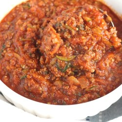 Pressure Cooker Veggie Filled Meat Sauce