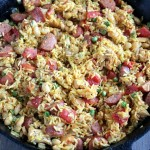 Easy Weeknight Dinner: Chicken & Sausage Paella