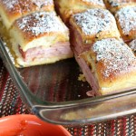 Friday Night Dinner: Monte Cristo Sliders