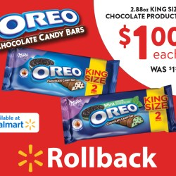 Find OREO Chocolate King Size Candy Bars...
