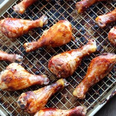 Baked BBQ Chicken Legs {Plus a Vacuvita® Giveaway!}