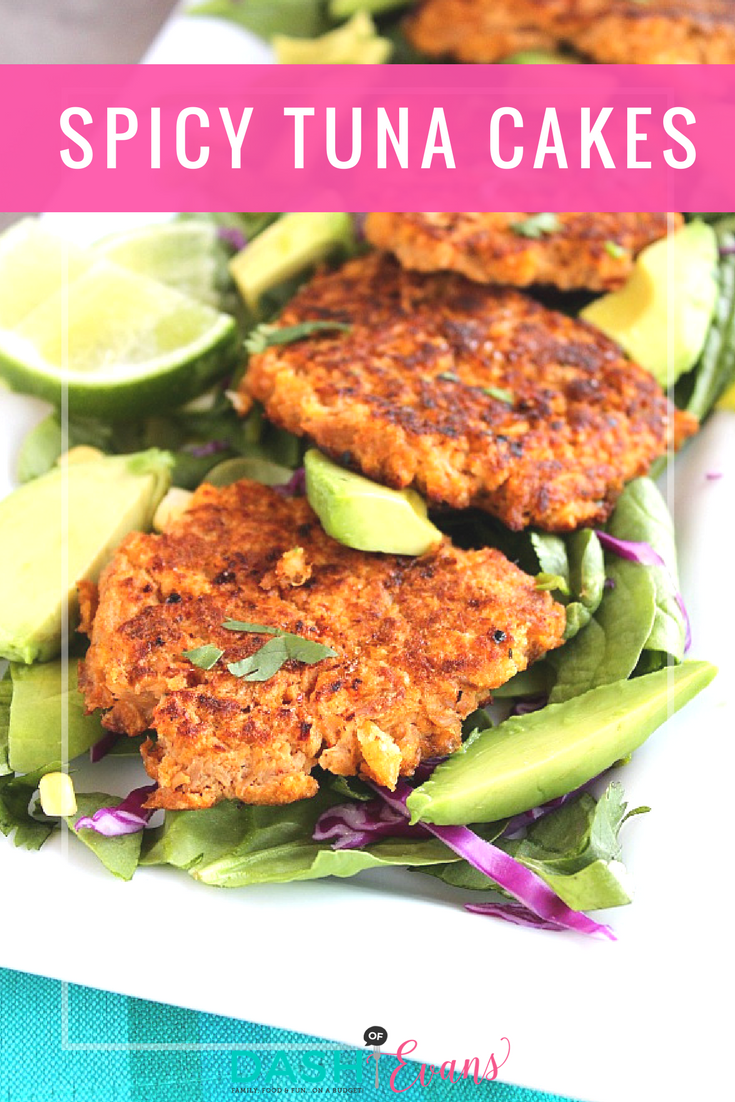 Looking for an easy, healthy dish to make on Prep Day? Tuna cakes are full of flavor and great for salads, wraps for as the main meal! Featuring StarKist Tapatio tuna, these are a must try! via @dashofevans #TearAndGo