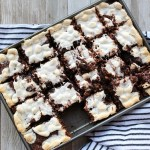 Oooey Gooey Elvis S'more Brownies