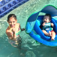 The SwimWays Baby Spring Float is perfect for your infant to swim this summer. A great canopy, plus easy to fold design is a win-win! Check it out! via @DashOfEvans #AD #SwimWays, #BabySpringFloat, #SpringFloat #FloatwithSwimWays, #MC