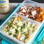 Easy Chopped Asian Lunchbox Salad –plus 4 other Sandwich free ideas!