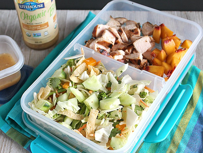 It's that time of year again! Are you ready to #PowerYourLunchbox with @ProduceForKids?! Check out my 5 Sandwich-Free ideas for your kiddos, including this easy chopped Asian salad. via @DashOfEvans