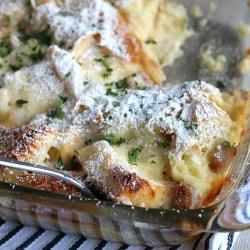 Monte Cristo Overnight Breakfast Bake