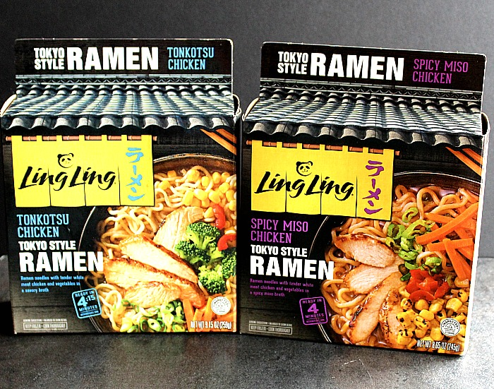 Have a takeout night at home with #LingLingRamen! The new Ling Ling Ramen goes from freezer to your table in less than 5 minutes. Bold flavors take you right to Japan. YUM! via @DashofEvans