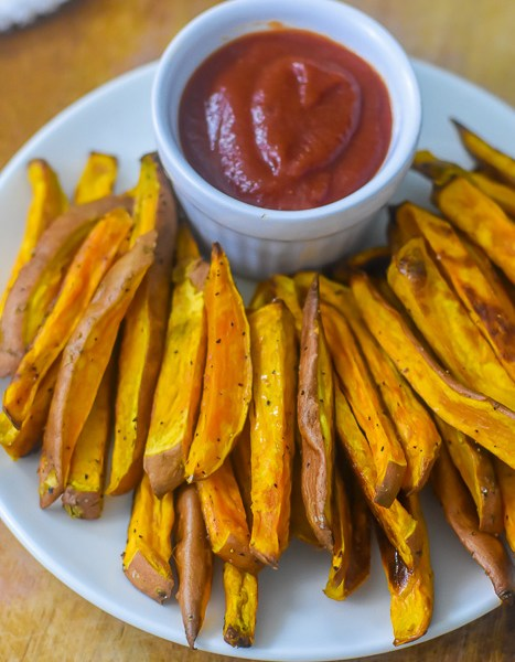 Baked Sweet Potato Fries