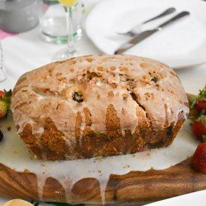Lemon Berry Quick Bread