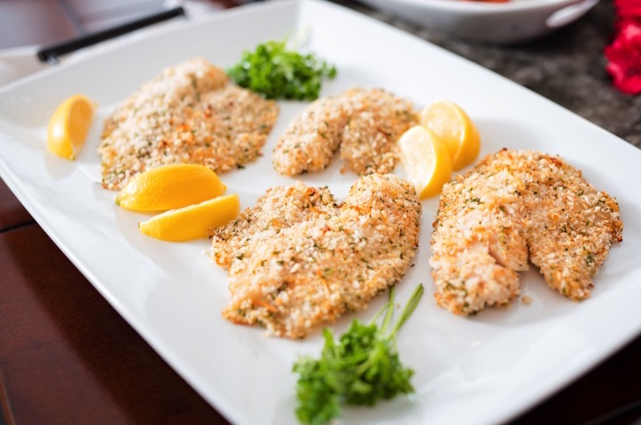 Parmesan Crusted Tilapia | Dash of Jazz