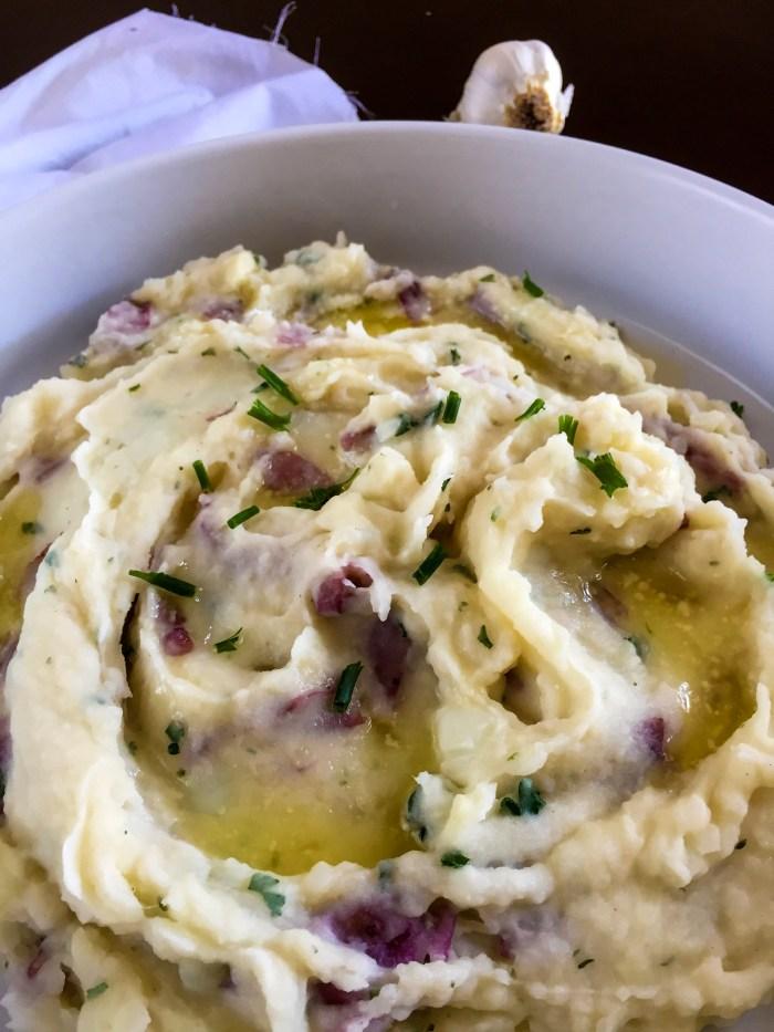 Garlic Mashed Potatoes | Dash of Jazz