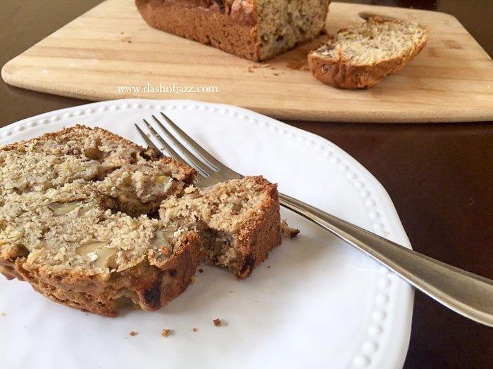 Spiced Banana Nut Bread
