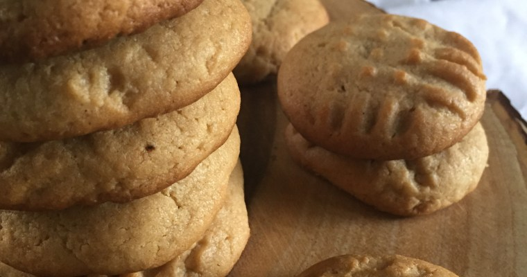Spiced Peanut Butter Cookies