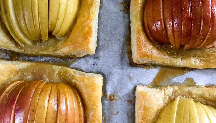 Easy Apple Tarts