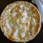 This easy classic apple pie is an American staple made with tart Granny Smith apples, warm spices, sugar, and an all-butter crust. by Dash of Jazz