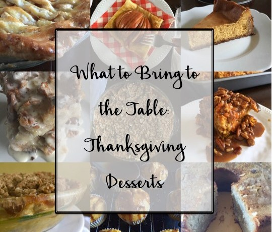 Thanksgiving Desserts Roundup | Dash of Jazz