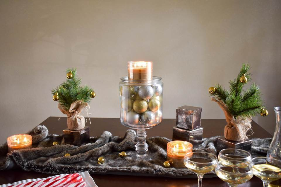 Budget Holiday Table Styling