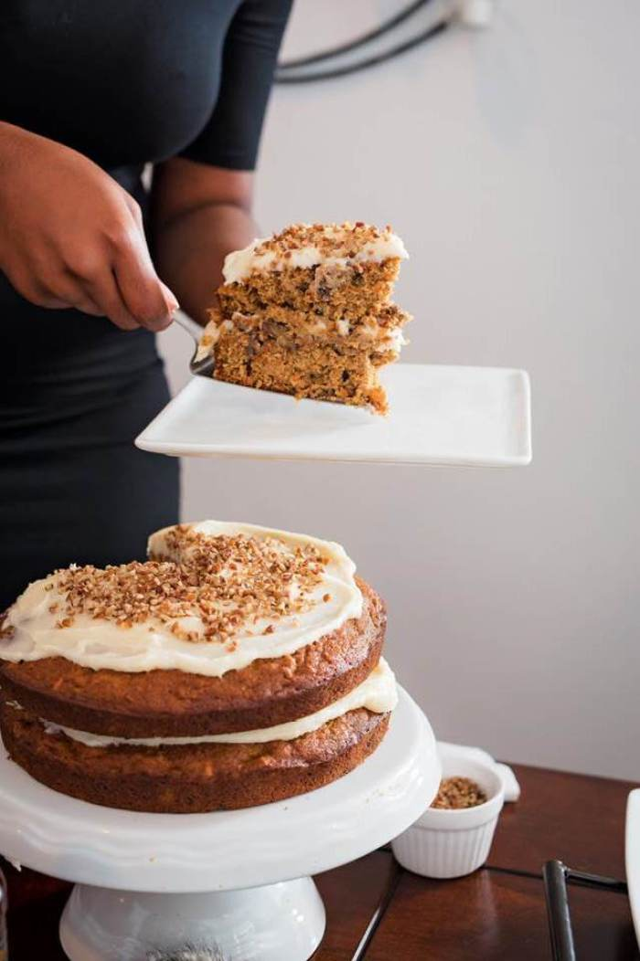 Naked Bourbon Carrot Cake | Dash of Jazz