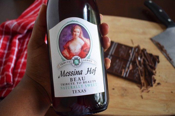 Red Wine Hot Chocolate | Dash of Jazz
