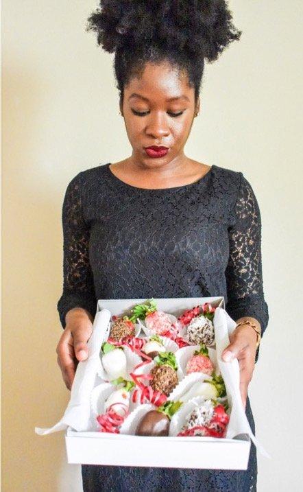 DIY Romantic Fruit Arrangements | Dash of Jazz