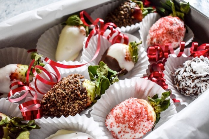 box of chocolate covered strawberries