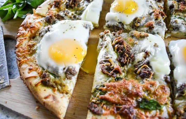 Brunch Pizza | Dash of Jazz