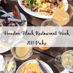 Houston Black Restaurant Week Picks