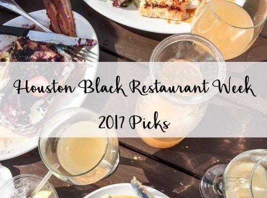 Houston Black Restaurant Week Picks