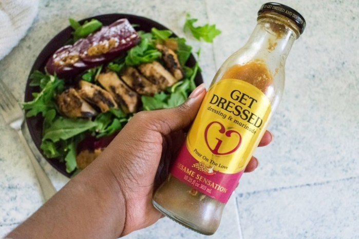 get dressed sesame sensation marinade