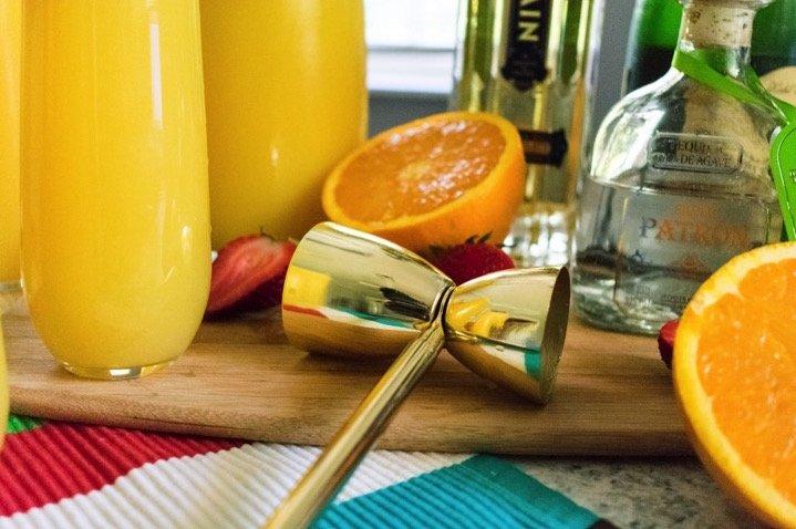 Turnt Tequila Mimosas | Dash of Jazz