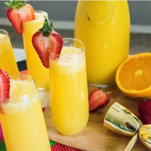Turnt Tequila Mimosas (with Elderflower Liqueur)
