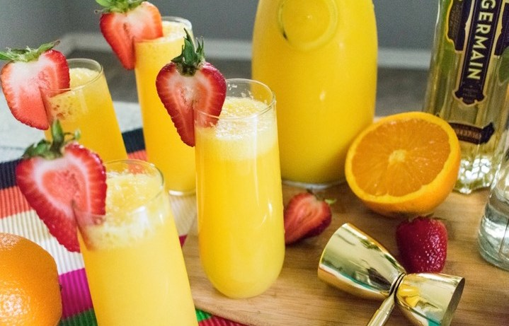 Turnt Tequila Mimosas | Dash of Jazz