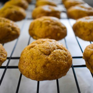 Chai-Spiced Pumpkin Snickerdoodle Cookies