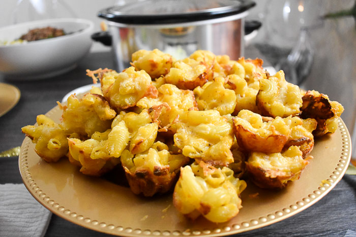 mac & cheese muffins